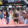 Laia Cañes entrando en la meta de Transgrancanaria Advanced 2018 en segunda posición
