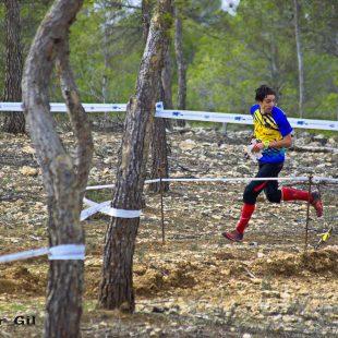 Antonio Martínez en una carrera de orientación