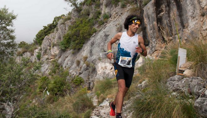 Zaid Ait Malek en el Trail Cara los Tajos 2017