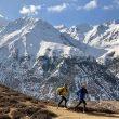 Ryan Sandes y Ryno Griesel preparando su intento al Great Himalaya Trail en marzo de 2018