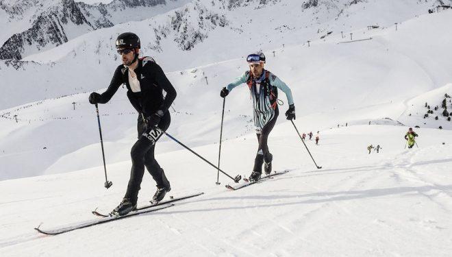 Kilian Jornet y Jakob Herrmann en la Altitoy 2018