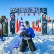 Argyrios Papathanasopoulos fue el ganador de esta North Pole Marathon Masculina de 2018.