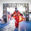 Guoping Xie fue la ganadora de la North Pole Marathon Femenina de 2018.