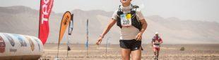 Natalia Sedykh en el Marathon des Sables 2018