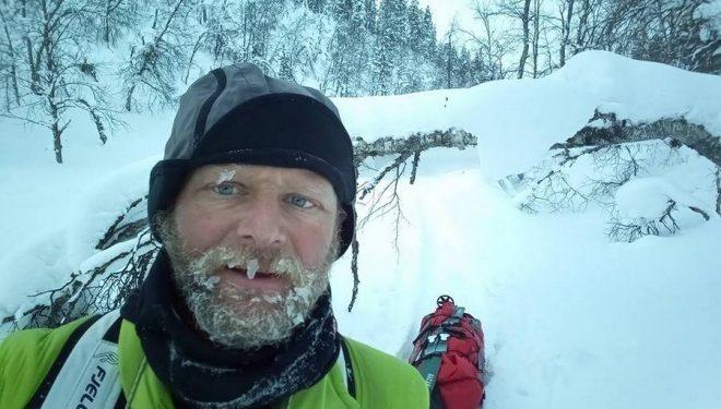 Antonio de la Rosa en la Lapland Extreme Challenge 2018