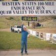 Bill Dooper en la meta de la Western States 2014