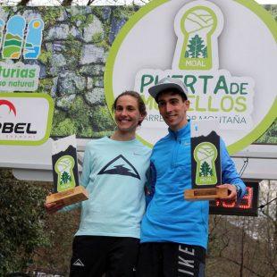 Yolanda Martín y Antonio Martínez, vencedores de Puerta de Muniellos 2018