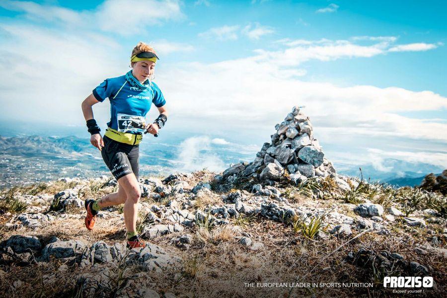 Paula Cabrerizo en el Trail Cara los Tajos 2018
