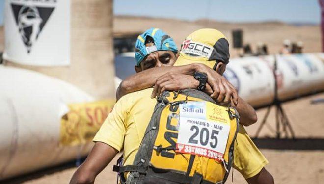 Los hermanos Rachid y Mohamed El Morabity, primero y segundo en la Marathon des Sables 2018