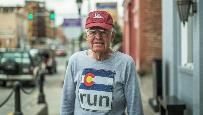 Bill Dooper en su viaje a la Western States 100 en 2014