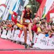 Laia Cañes a su entrada en meta de Penyagolosa Trails 2018, donde se proclamó subcampeona del mundo