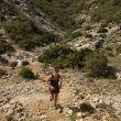 Gemma Arenas entrenando en el recorrido del Mundial de Penyagolosa Trails 2018