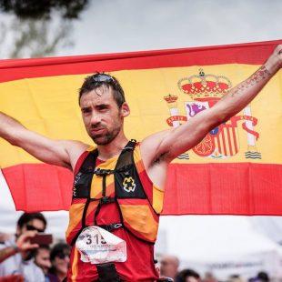 Luis Alberto Hernando en la Penyagolosa Trail 2018, en la que se proclamó campeón del mundo