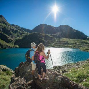 Los senderos de Gran Recorrido de Andorra te permiten hacer deporte y disfrutar del paisaje al mismo tiempo.
