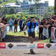 Pau Capell entrando en la meta del Ultra-Trail Mt Fuji 2018