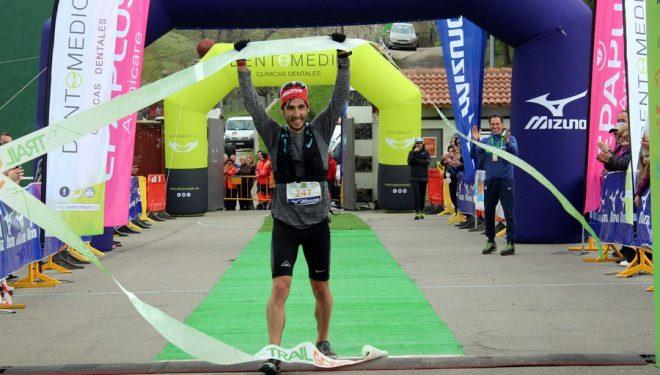 Pablo Villa en el Trail Gordón 2018, que ganó
