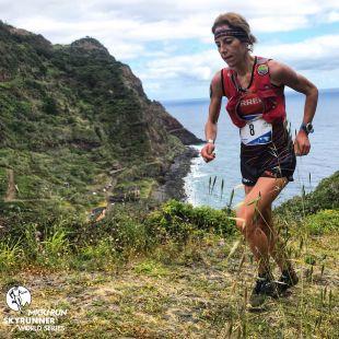 Ragna Debats en la Ultra SkyMarathon Madeira 2018, que ganó
