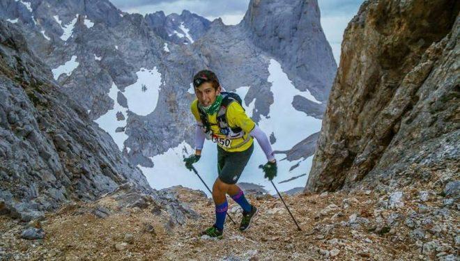 Manuel Merillas en la Travesera de Picos 2016