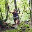 Christel Dewalle en el Kilómetro Vertical de Zegama 2018, en el que ganó