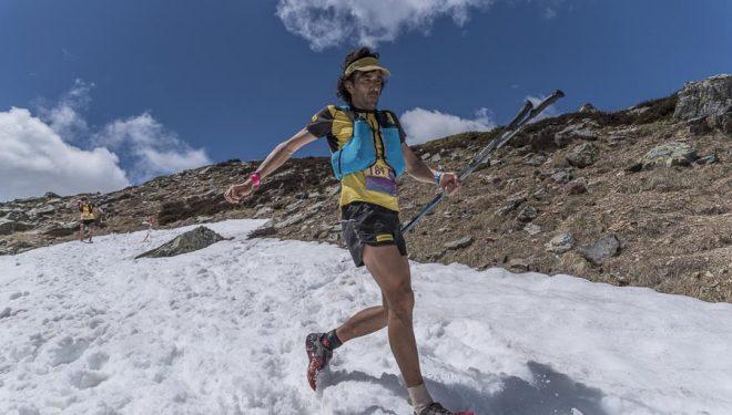 Alejandro Arana en la primera etapa Riaño Trail Run 2018.