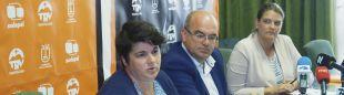 Ascensión Rodríguez, Consejera de Deportes del Cabildo, en la presentación de los datos de impacto económico de Transvulcania 2018