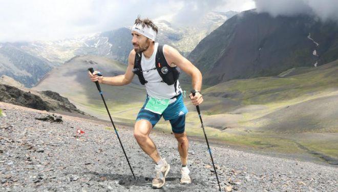Luis Alberto Hernando en la Vuelta al Aneto 2018, dentro del Gran Trail Aneto-Posets