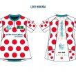 El maillot de la Montaña se equiparará al del Tour de Francia con la clásica elástica de puntos rojos sobre un fondo blanco.
