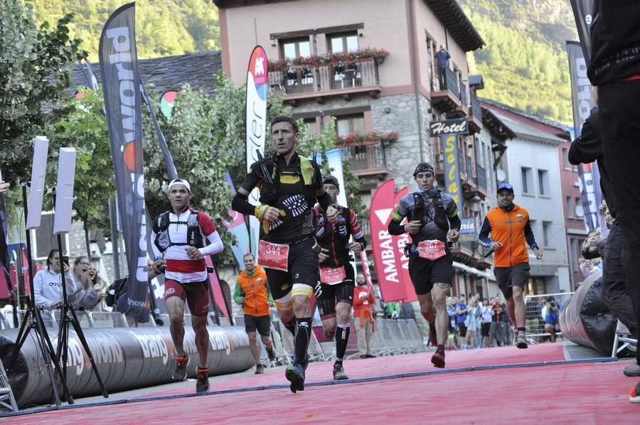 Javi Domínguez, ganador de la Gran Trail Aneto-Posets 2018