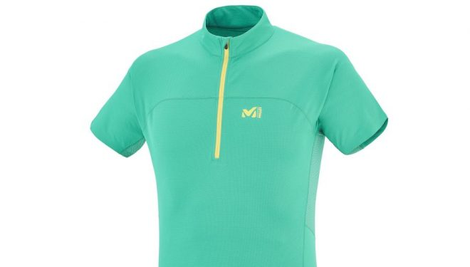 Camiseta Millet LTK INTENSE ZIP SS
