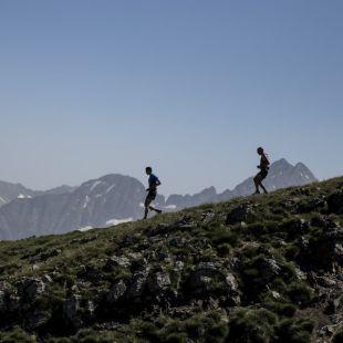 Dos participantes en la Buff Epic Trail 2018