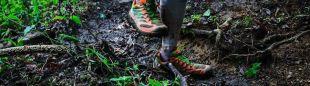 Pisada de un corredor en la Tsaigu Trail Mt. Kuocang 2018