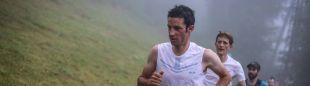 Kilian Jornet en el Mont-Blanc Marathon 2018, que ganó