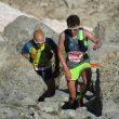 Marc Pinsach (delante) y Miguel Caballero en el el Maratón Vielha-Molières 3010 2018