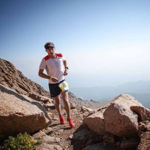 Dakota Jones en el Pikes Peak Marathon 2018, que ganó