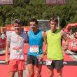 Podio masculino de la Skyrace Comapedrosa 2018