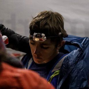 Xavier Thévenard en la Hardrock 100 2018, en la que fue descalificado
