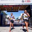 Laura Orgué entrando en novena posición en la meta de Sierre-Zinal 2018