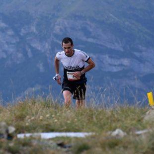 Agustí Roc en la Villaler Vertical Race 2018, que ganó