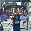 Andreu Simón en la meta del Trail Valle de Tena que le proclamó campeón de España Ultra