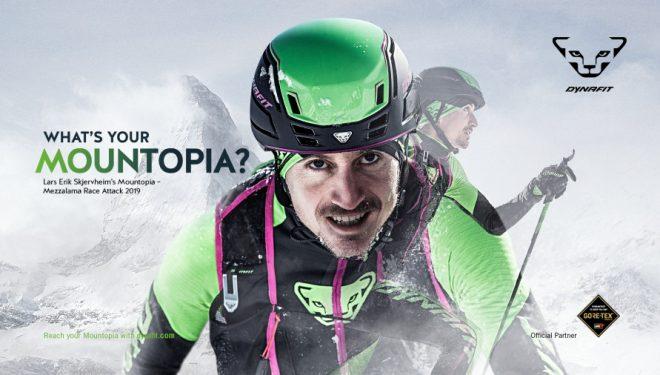 "Trofeo Mezzalama organizado por Dynafit. ""What´s your Mountopia?"""