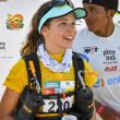 Mathilde Vinet, vencedora de la primera etapa del Half Marathon des Sables 2018