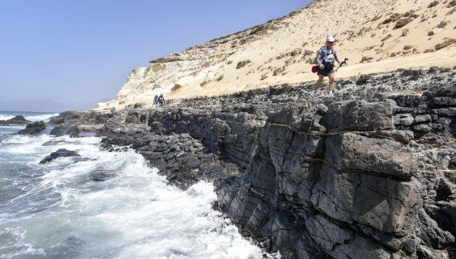 Primera etapa del Half Marathon des Sables Fuerteventura 2018