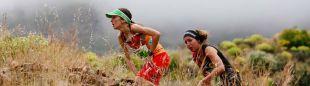 Azara García de los Salmones y Ángels Llobera, dos de las corredoras que se han posicionado por la igualdad de los premios entre hombres y mujeres