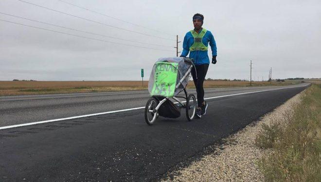 Pete Kostelnick en su reto cruzando Norteamérica Ke2Key 2018