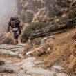 Joan Soler en la tercera etapa del Everest Trail Race 2018