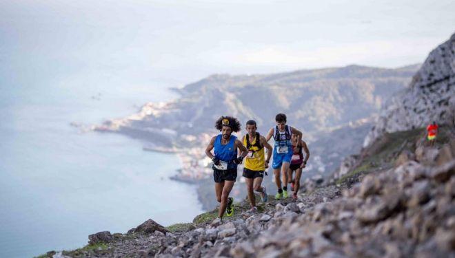 Zaid Ait Malek en la tercera etapa de Euráfrica Trail 2018