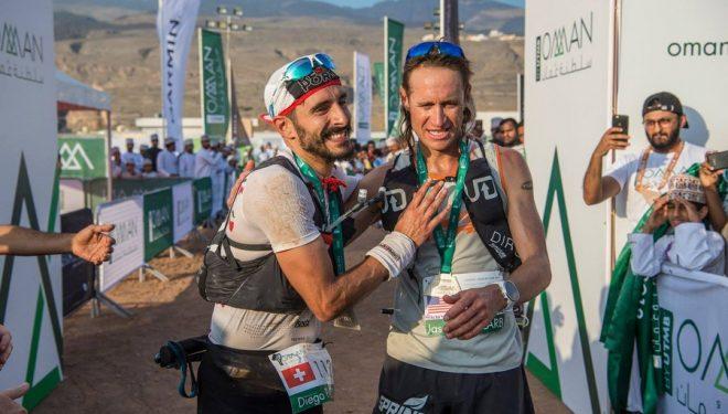 Diego Pazos y Jason Schlarb en Oman by UTMB 2018