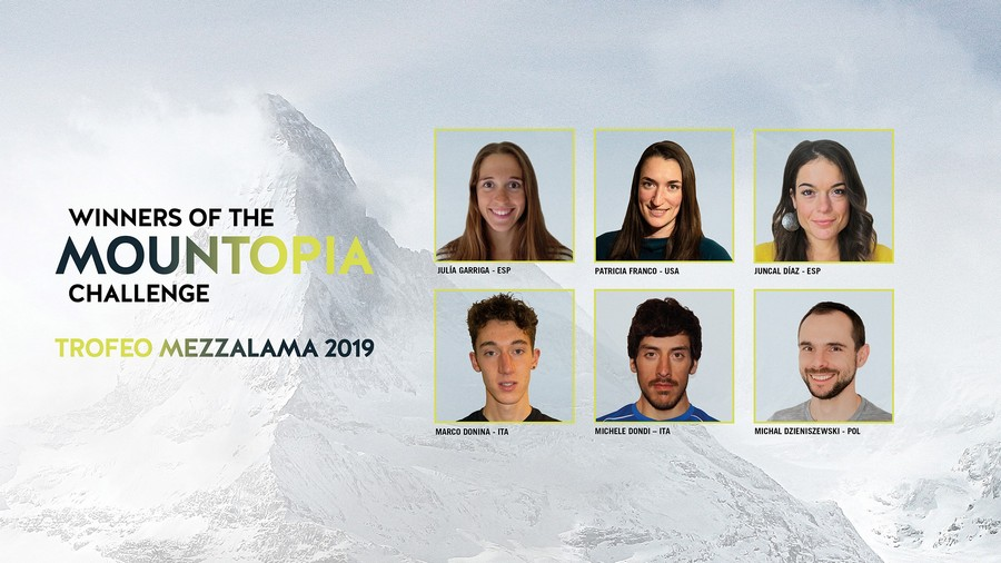 Ganadores del Mountopia Mezzalama Dynafit