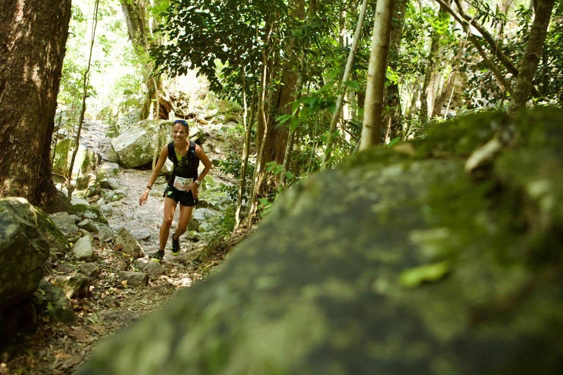 Emily Hawgood en Ultra-Trail Cape Town 2018