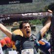 Janosch Kowalczyk en la meta del Ultra-Trail Cape Town 2018